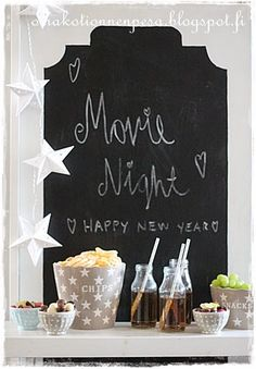 Krasilnikoff Happy New, Chalkboard Quotes, Art Quotes, Snacks, Decor, Appetizers, Decoration, Decorating, Treats