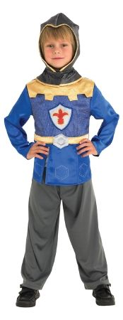 Boys Deluxe Knight of the Realm Costume for Medieval Fancy Dress Kids Childs Medium Age 5-7 years M
