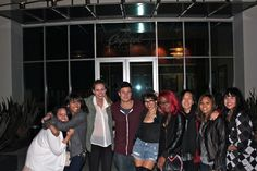 LA Graffiti6 Street Team w/ Jamie Scott! This was after our first pizza party and private acoustic show :)