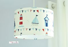 Hängelampen - Lampenschirm - ein Designerstück von Lieblings-Lampenschirme bei DaWanda
