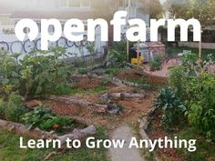 Open Farm: The Wikipedia for farming and gardening!