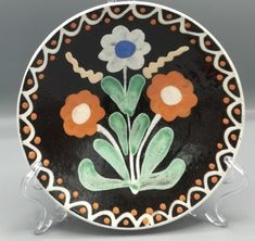 Jeden z mnohých vzorov pozdišovskej keramiky Plates, Tableware, Kitchen, Licence Plates, Dishes, Dinnerware, Cooking, Griddles, Tablewares