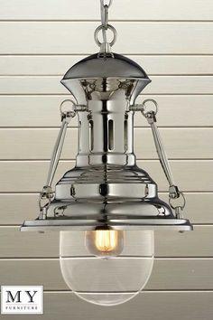 Maxime - Nautical Fishermans Pendant Kitchen Hallway Light Edison Bulb included