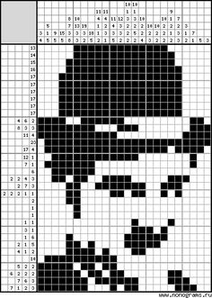 Pildiotsingu японские кроссворды tulemus Pixel Crochet, Crochet Chart, Crochet Motif, Small Cross Stitch, Cross Stitch Designs, Cross Stitch Patterns, Sketch Pen Drawing, Pixel Art, Hama Art