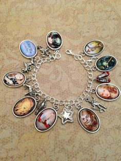 Dorothy and the WIzard of Oz Charming Bracelet by justbedesigns