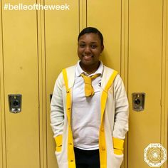 Gold Tie '18, Sydney Addison, earned #belleoftheweek for her service to the dear neighbor. Over winter break, she traveled to Houston,TX on a mission trip with the youth group from her church to help those effected by Hurricane Harvey! During that week, she volunteered at Houston Food Bank and Bread of Life. She helped make over 100 laundry bags full of snacks, over the counter medicine, canned goods, and toilet paper for people that lined up in 30 degree weather to receive donations.