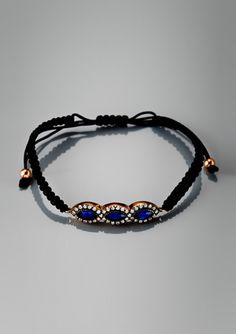 ADAM MARC Teardrop Charm Bracelet