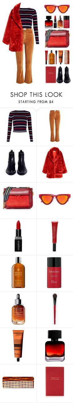 """""""lover."""" by the-vagabond on Polyvore featuring Frame, Alexander Wang, H&M, Marni, Smoke x Mirrors, Smashbox, Forever 21, Molton Brown, Christian Dior and Aesop"""