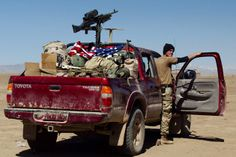 Toyota Tacoma | Journalist ravel to photograph, sketch, & understand the more human stories of worn torn countries.