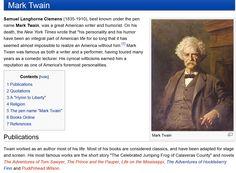 Mark Twain - Conservapedia - In God We Trust.' I don't believe it would sound any better if it were true.
