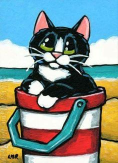 Cat Drawing, Painting & Drawing, Cat Cards, Space Cat, Vintage Cat, Whimsical Art, Cats And Kittens, Lisa Marie, Illustration Art