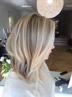 Pretty blonde colour
