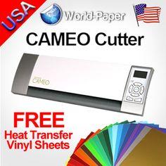 Silhouette Cameo Digital Cutting Machine Die Craft Cutter Tshirt Transfer Vinyl | eBay