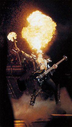 Gene Simmons KISS fireball