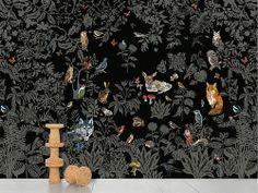 Nathalie Lété: forest wallpaper