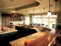 Add features like accessible food storage, durable surfaces and an open floor plan