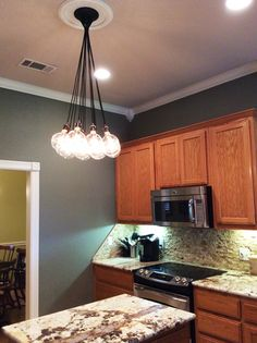 10 best kitchen and island lighting images on pinterest cluster chandelier even design your own 14 pendant kitchen island aloadofball Gallery