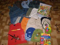 Balík oblečení vel. 98/104-27kusů z bazaru