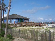 Pier on Tybee Island  Savannah GA