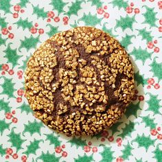 Fresh ginger and black pepper bring a kick to this classic cookie. Prep tip: Swirl a liquid measuring cup with a thin coat of vegetable...
