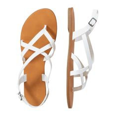 FREE SHIPPING on orders over $50. FREE RETURNS in store. Crisscross straps put a playful spin on summertime sandals.