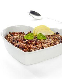 Bakte epler med crispy lokk | www.greteroede.no | www.greteroede.no Dog Food Recipes, Nom Nom, Favorite Recipes, Snacks, Weight Loss, Foods, Cakes, Food Food, Appetizers