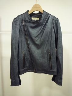 I've been dreaming of a thin, lambskin leather jacket for eons. via ESB