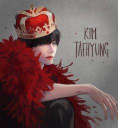 Bts Taehyung, Taehyung Fanart, Foto Bts, Daegu, Fan Art, V Chibi, V Bts Wallpaper, Kpop Drawings, Bts Playlist