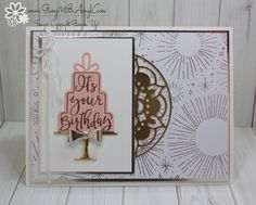 I used the Stampin' Up! Celebration Time stamp set bundle to create my card for the Sunday Stamps sketch challenge this week. Here is the sketchforSunday Stamps SSC160. Be sure to stop by the Su…