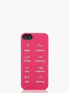 Favorite Friday: Our Favorite Color // emoticons silicone // http://www.shannongail.com/2013/09/27/our-favorite-color-pink/