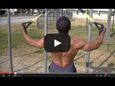 TRX - Bigger, Stronger, Shredded Back Exercises With FitSquad - YouTube