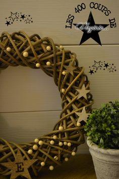 """Couronne étoiles """"LoVe"""" home made... les 400 coups de Virginie..."""