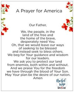 Join me in a prayer for America as we celebrate this Independence Day! May our hearts turn towards God for every need. Prayer List, Prayer Box, Power Of Prayer, Prayer Ideas, Prayer Wall, Faith Prayer, God Prayer, Prayer For Our Country, Prayers For America