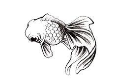 Simple Fish Tattoo Design