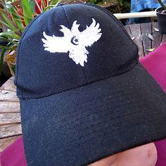 RARE 1990s Black Crowes Embroidered Logo Band Tour Concert Snapback Hat Cap | eBay