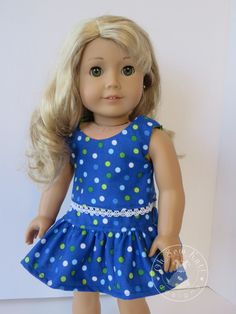 Blue and Green Mix and Match Doll Clothes – Oh Sew Kat! Make mix and match doll clothes with easy PDF sewing patterns by OH Sew Kat. Sewing Doll Clothes, Sewing Dolls, Girl Doll Clothes, Girl Dolls, Ag Dolls, Barbie Clothes, Barbie Dress, Barbie Doll, American Girl Dress