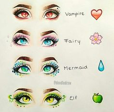 Which eyes do you have? I have fairy eyes
