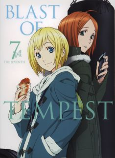 Tags: DVD (Source), Scan, Official Art, Zetsuen no Tempest, Hoshimura Junichirou, Hanemura Megumu