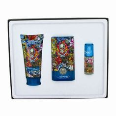 Ed Hardy Hearts & Daggers by Ed Hardy - Gift Set -- 1.7 oz Eau De Toilette Spray + 3 oz Shower Gel by Ed Hardy. $40.01. Men. Gift Set - 1.7 oz Eau De Toilette Spray + 3 oz Shower Gel + .25 oz Mini EDT Spray. Ed Hardy Hearts & Daggers Cologne by Ed Hardy, If your man is trendy and lives on the edge he is sure to love this spicy woody fragrance for men. Designed by the vintage tattoo artist and trendy clothing designer, the fragrance is modern and upbeat. Top notes ar...