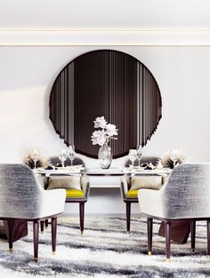 Dining Room Table Decor #diningroomfurntiure #diningroomdecor #chair…