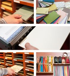 Kakimori, a place in Japan where you can design your own notebook and even choose the ink color of your pen!! <3