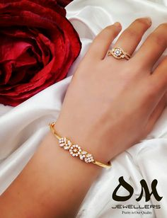 Akash Jewellery Contact for Order WhatsApp On can find Bangle bracelets and more on our website.Akash Jewellery Contact for Order WhatsApp On 9480004129 Gold Ring Designs, Gold Bangles Design, Gold Earrings Designs, Bracelet Designs, Necklace Designs, Jewelry Design, Fashion Bracelets, Fashion Jewelry, Miyuki Beads