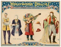 75.2386: Hollywood Dollies: Rudolph Valentino | paper doll | Paper Dolls | Dolls | Online Collections | The Strong