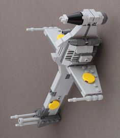 Mid scale LEGO U wing   Blue Squadron X wing from Rogue One     Lego moc B Wing in attack configuration
