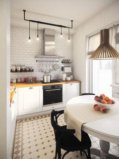 Однокомнатная квартира в Москве, 36 кв.м - Дизайн интерьеров | Идеи вашего дома | Lodgers