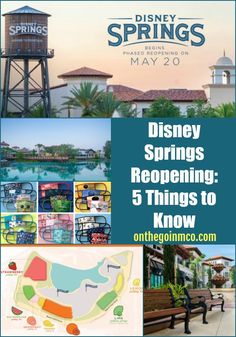 Disney Springs Reopening - 5 Things to Know - On the Go in MCO