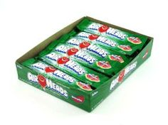 Watermelon Air Heads Taffy Bars These Watermelon flavored Air Heads are a chewy fruit flavored taffy that melts in your mouth
