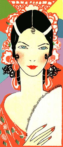 40 ideas for art deco illustration fashion paintings Art Deco Pictures, Pictures To Draw, Drawing Pictures, Art Nouveau, Art Vintage, Poster Vintage, Art Quotidien, Art Deco Illustration, Illustration Fashion