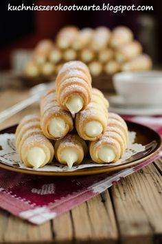 Polish Desserts, Polish Recipes, Cookie Desserts, Other Recipes, Sweet Recipes, Cake Recipes, Dessert Recipes, Pasta Filo, Sweet Pastries