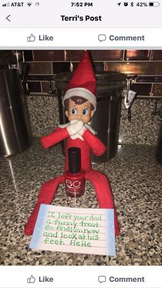Excellent Images Most current No Cost Awesome Elf on the Shelf Ideas for Kids - DIY Sweetheart C. Thoughts Most current No Cost Awesome Elf on the Shelf Ideas for Kids – DIY Sweetheart Concepts Awesome Christmas Quotes, Christmas Humor, Christmas Pranks, Christmas Messages, Christmas Images, Awesome Elf On The Shelf Ideas, Elf On The Shelf Ideas For Toddlers, Elf Is Back Ideas, Elf Ideas Easy